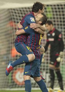 Messi no ha parado de anotar desde Febrero