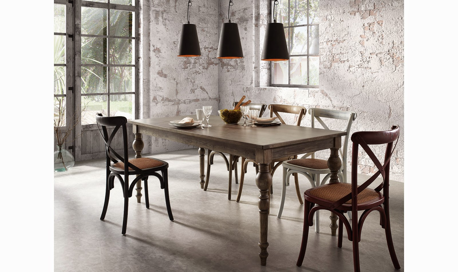 http://www.portobellostreet.es/mueble/40810/Mesa-de-comedor-gris-Vintage-Edith