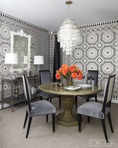 cup half full: moroccan inspired dining room