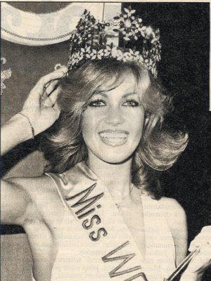 Matagi Mag Beauty Pageants: Gabriella Brum - Miss World 1980