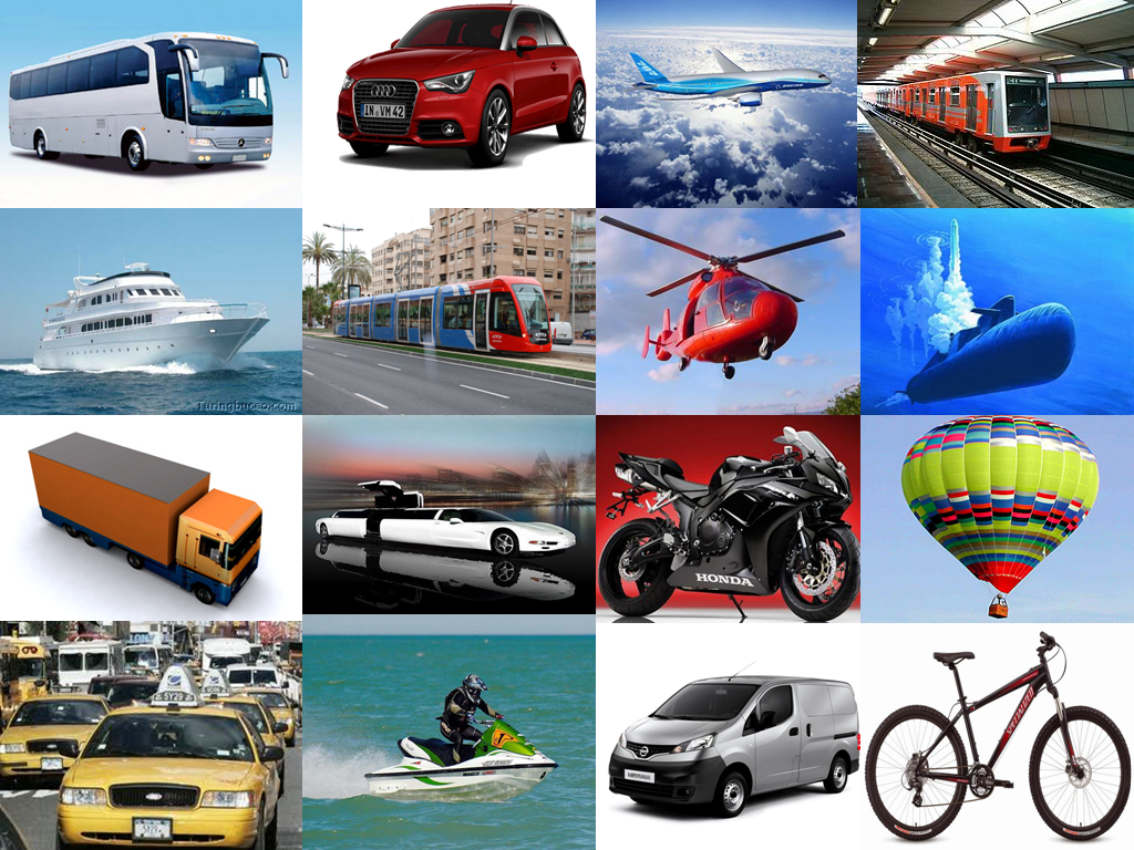 definicion de los medios de transportes:
