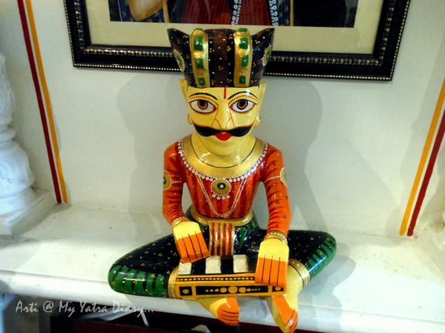 Rajasthani artisan craft at Hotel Kalyan, Jaipur, Rajasthan