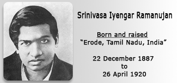 Essay On Srinivasa Ramanujan
