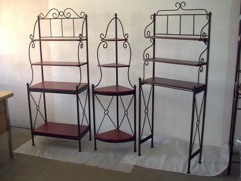 Herreria el peruano for Muebles de hierro forjado