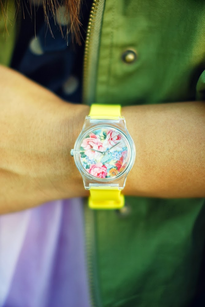 May 28th 1240PM yellow Floral Watch Surfdome