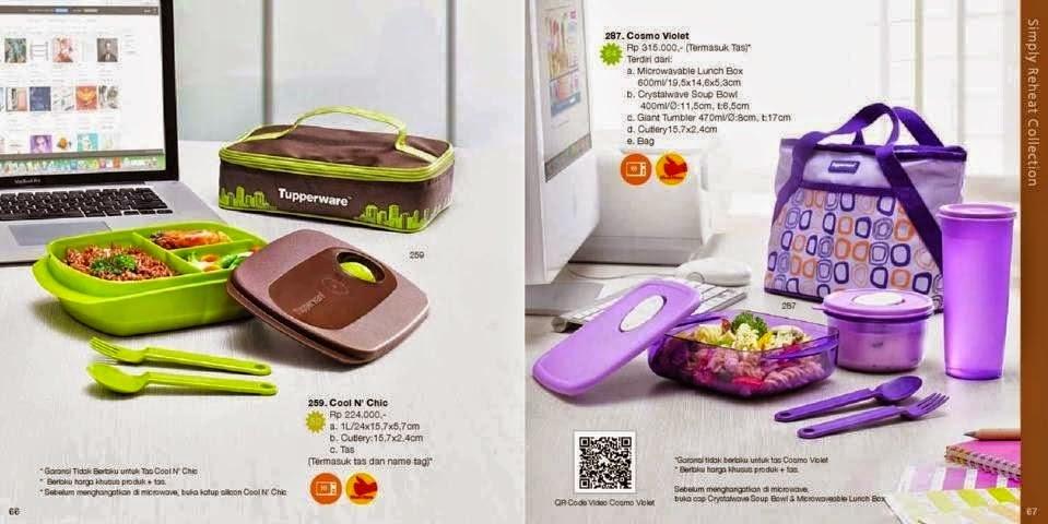 Katalog Tupperware Reguler November 2014 - Simply Reheat Collection