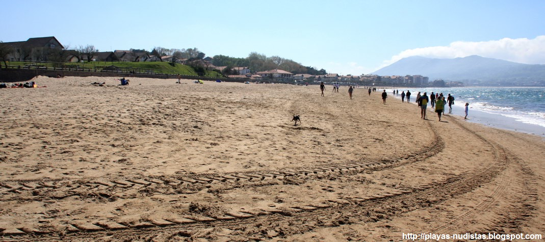 Nude beach Les Deux Jumeaux (Pyrénées-Atlantiques, France)