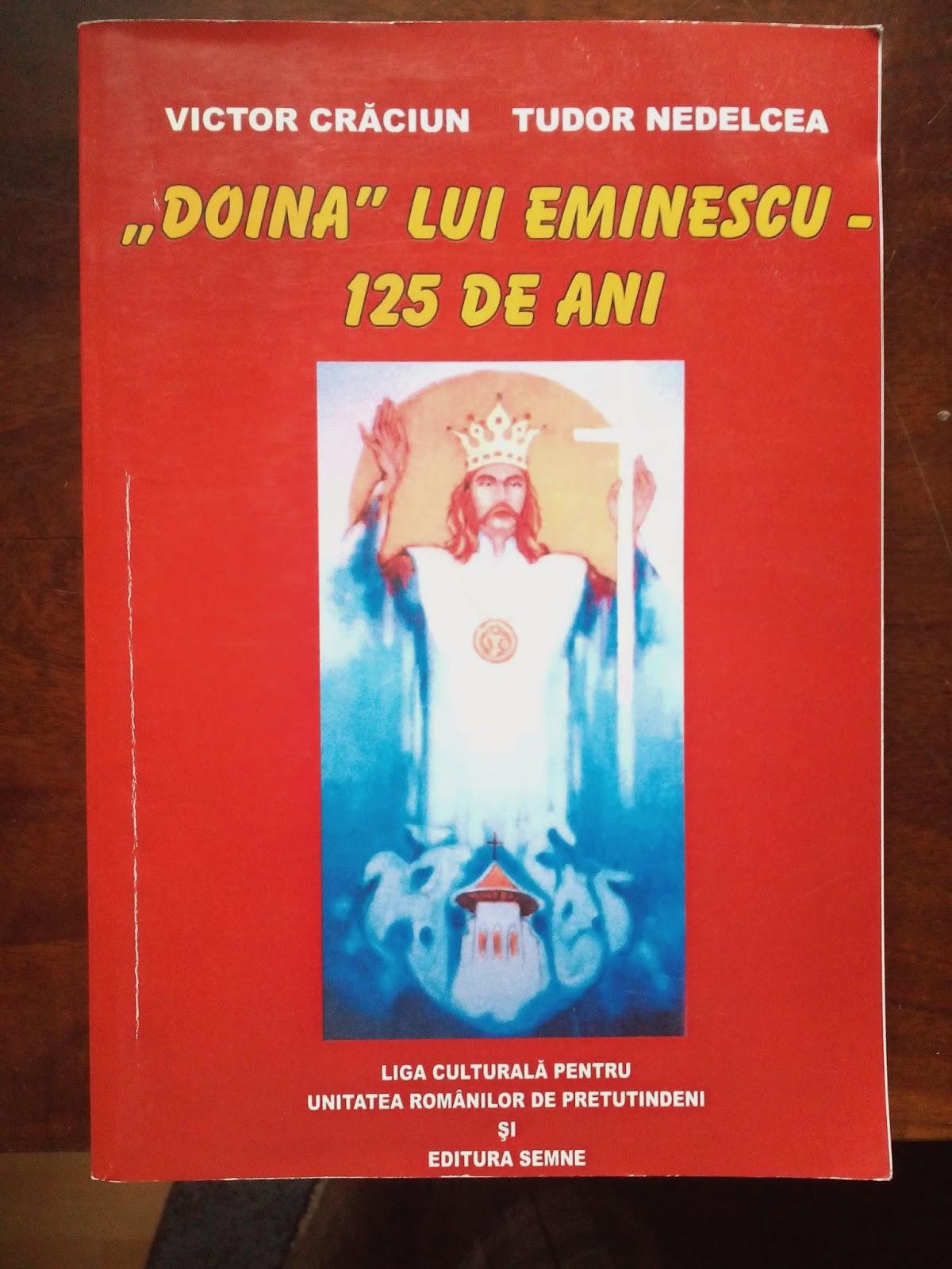 """Tudor Nedelcea, Victor Craciun - """"Doina"""" lui Eminescu - 125 de ani"""