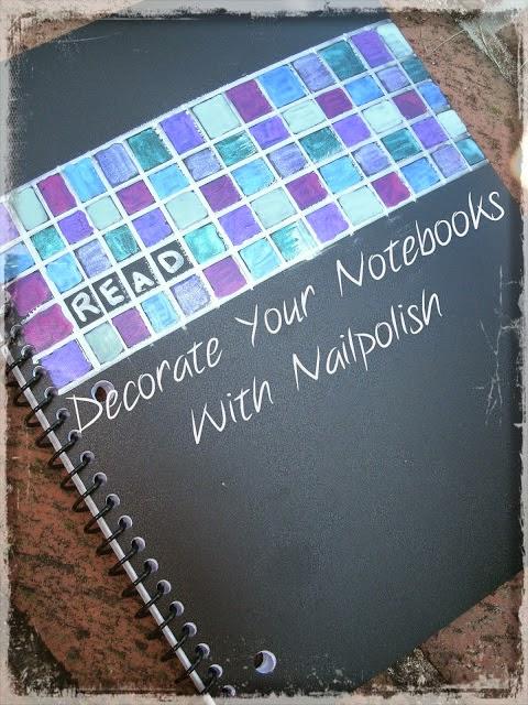 Decorar cuadernos en Recicla Inventa