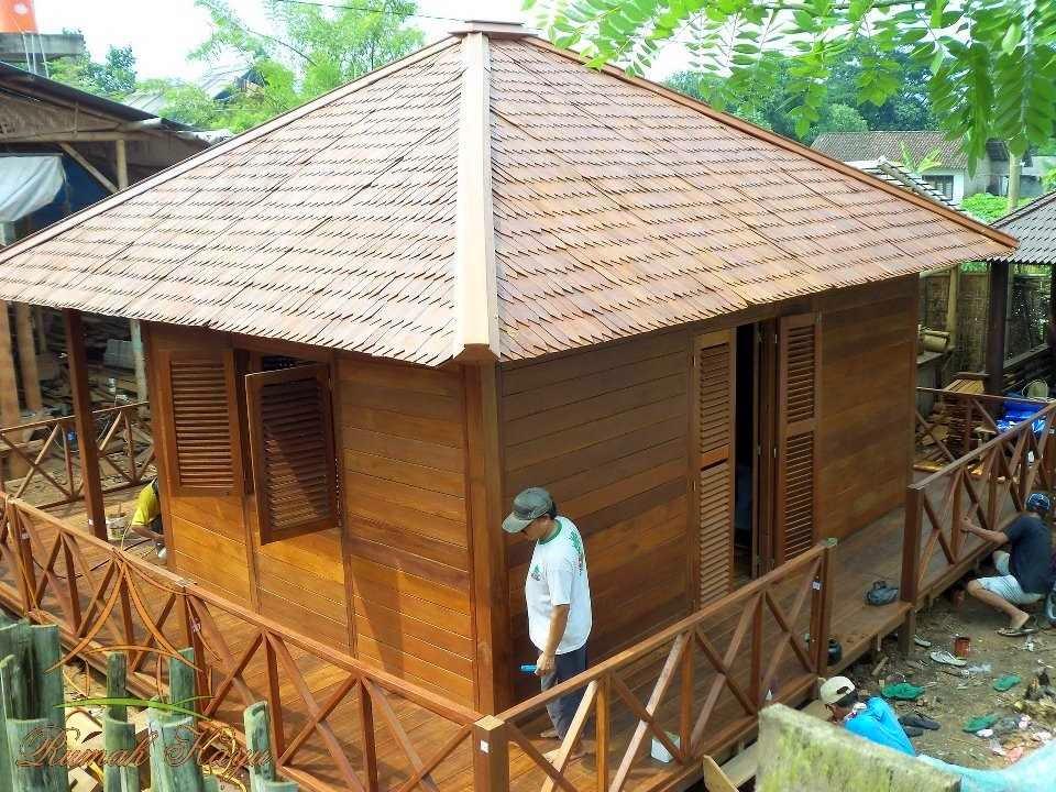 Desain rumah kayu tradisional