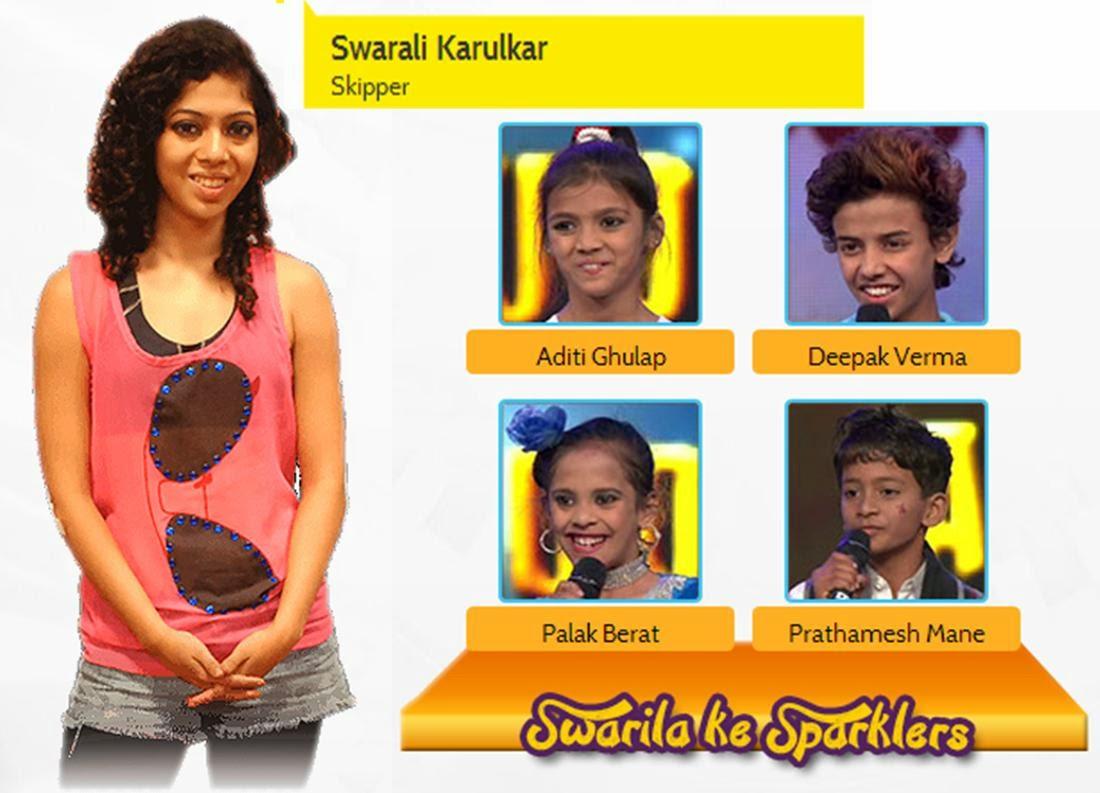 Skipper and Dance Maniac Swarali Ke Sparklers in DID Little Masters Season 3