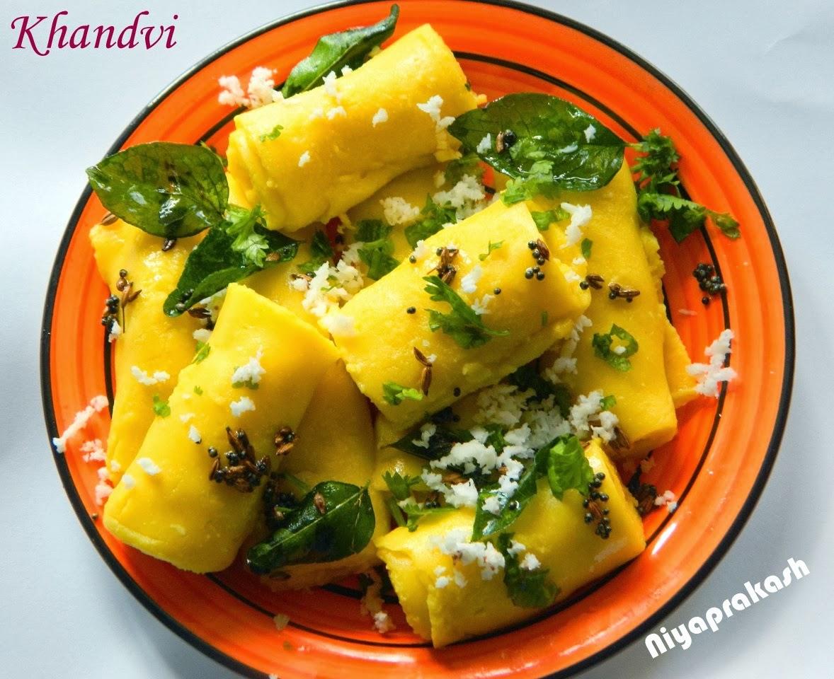 Niya\'s World: Khandvi (Recipe from Rak\'s Kitchen.net)