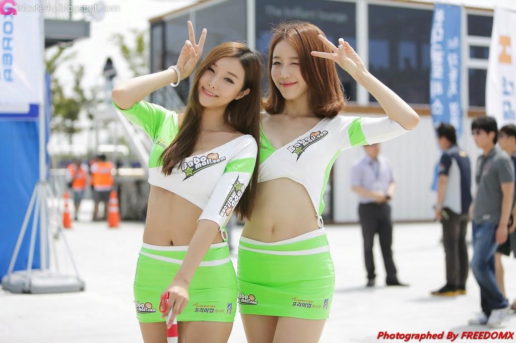 1 Han Song Yee - Korea Speed Festival 2014 - very cute asian girl-girlcute4u.blogspot.com