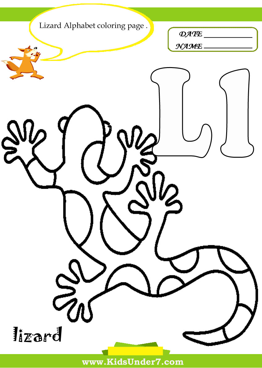 Worksheets Letter L Worksheets kids under 7 letter l worksheets and coloring pages