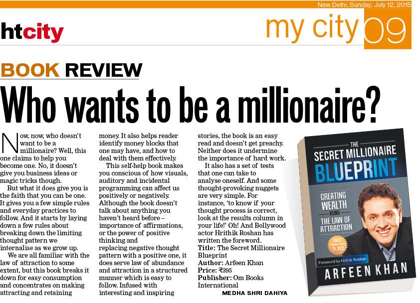 Wordsmith the secret millionaire blueprint book review flash by the secret millionaire blueprint book review flash by medha shri malvernweather Images