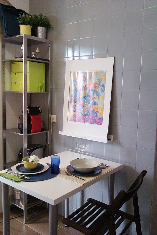 Antes y despu s la cocina de patricia despu s de pintar for Pintar azulejos de bano antes y despues