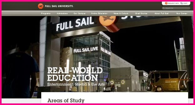 full sail creative writing for entertainment review Explore full sail university reviews, rankings, and statistics is it the right college for you.