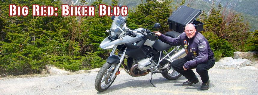 Big Red Biker Blog