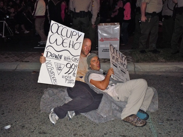 Occupy West Hollywood Halloween Carnaval 2011