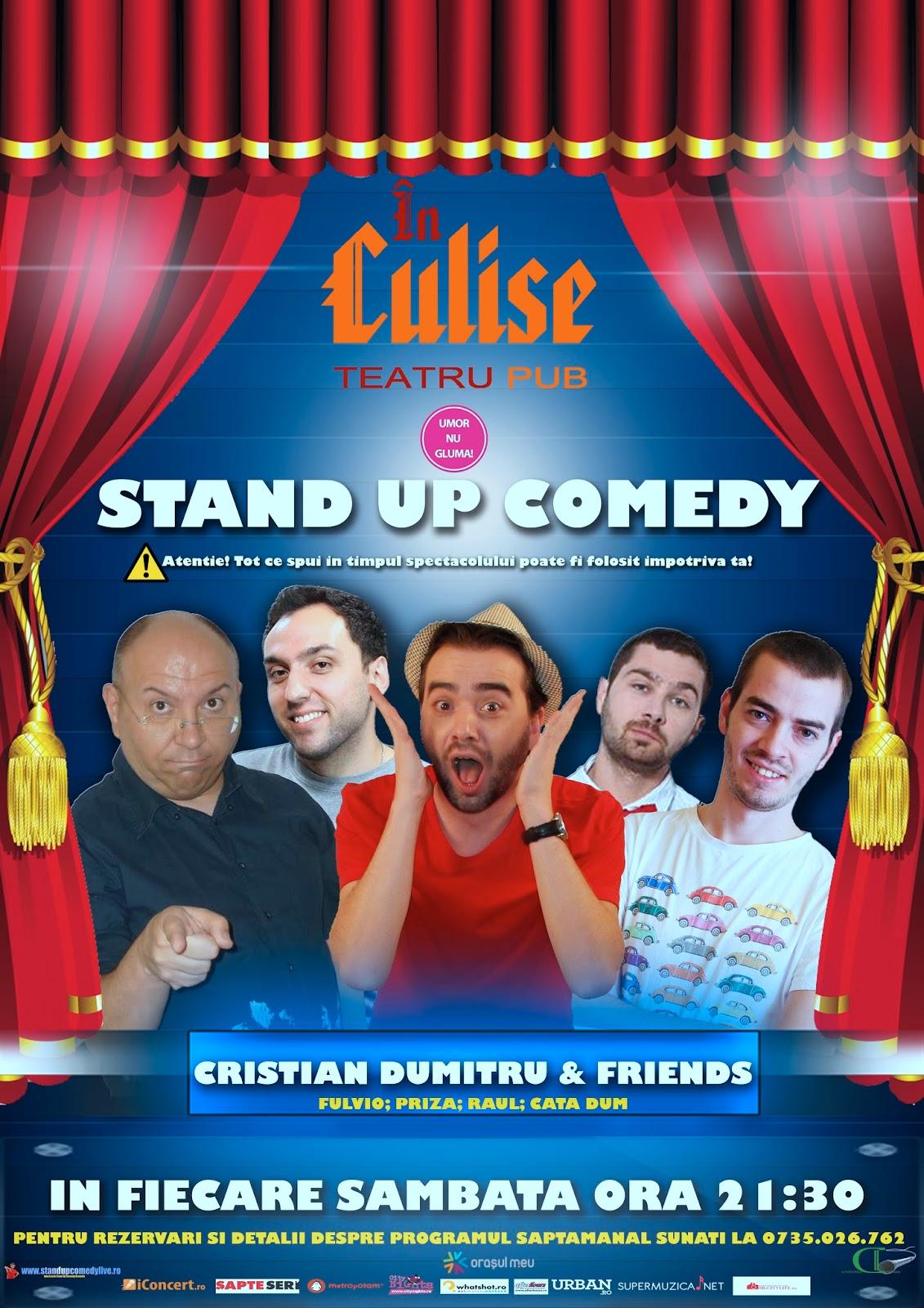 stand-up comedy Sambata @ Culise Comedy Club Bucuresti