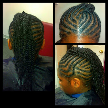 Mohawk / Two Strand Twist