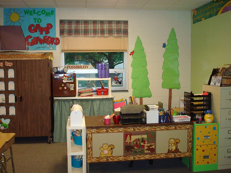 Classroom Decorating Ideas Camping Theme : Camping themed classrooms clutter free classroom