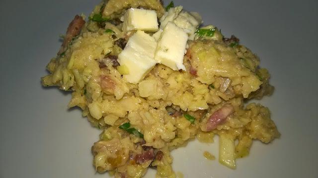 Salade de chou blanc aux lardons