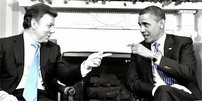 Santos y Obama | Copolitica