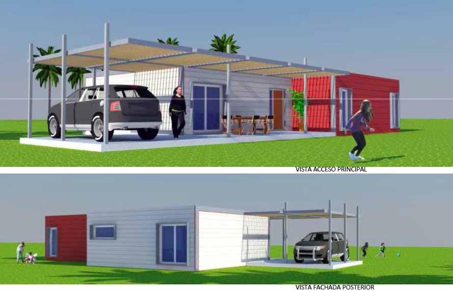 Arquitectura arquidea futuria home nos presenta sus - Casas modulares minimalistas ...