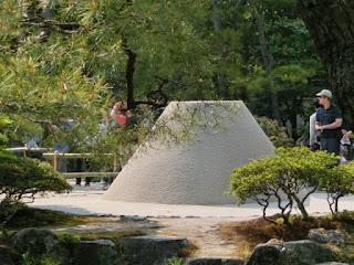 銀閣寺向月台
