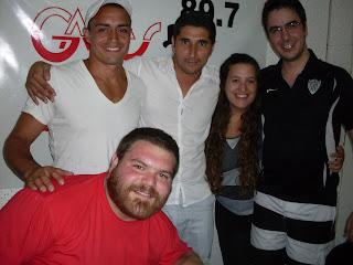 Nos defendimos en Cipo Pasión Radio con Cristian Martínez y Damián Jara