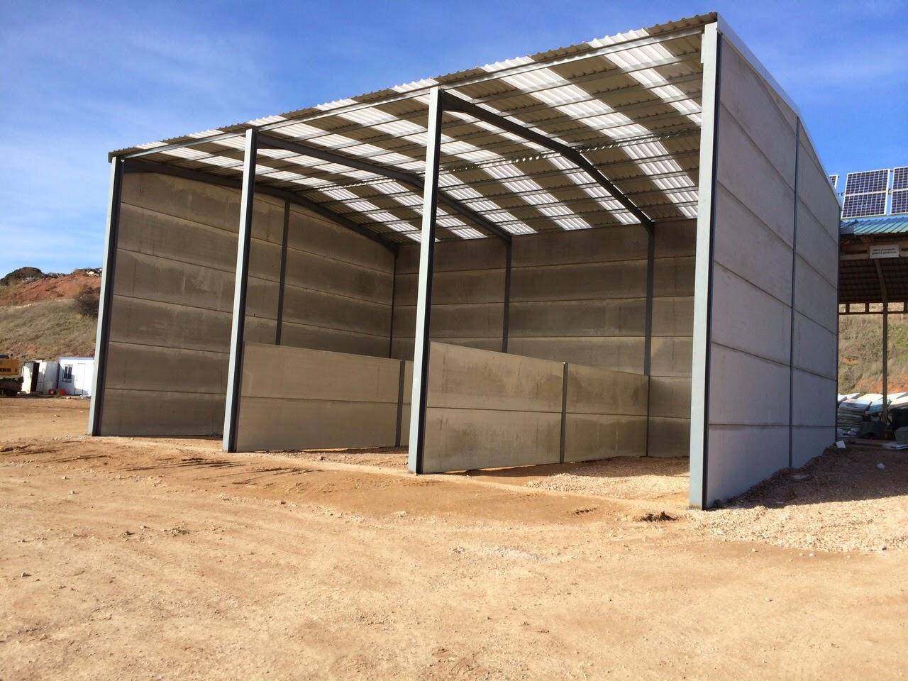 Cobertizos ganaderos baratos cobertizo agr cola for Casas con cobertizos