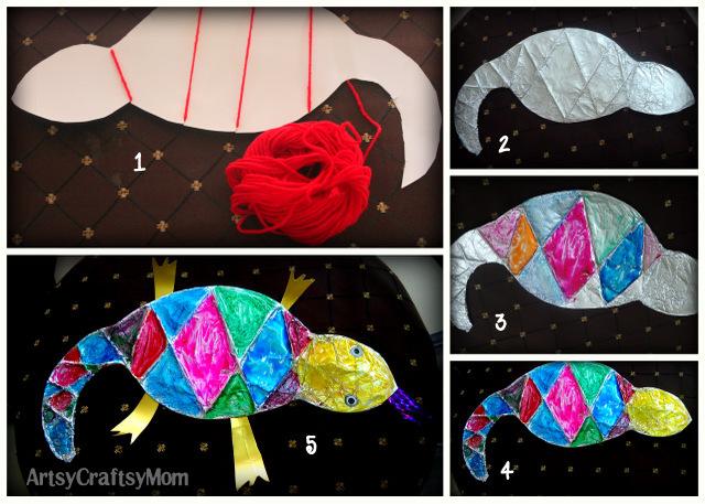 Lizard craft How to