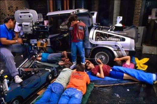 rodajes de los 80-regreso al futuro