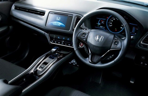Honda HRV RS Interior