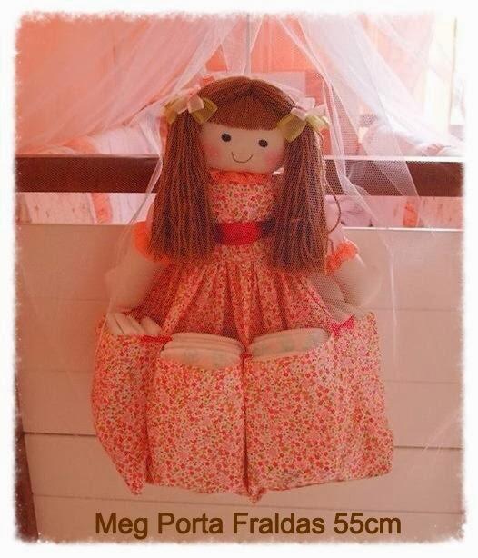 Meg Porta Fralda 55cm