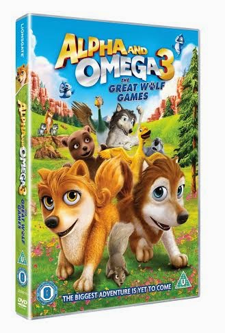Alpha and omega 3 the great wolf games DVD movie review
