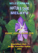 Melestarikan pantun & Syair Melayu, Syarif Abdul Kadir Zein