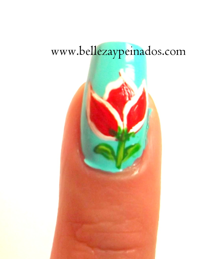 Decoración de uñas con pincel ~ Belleza y Peinados