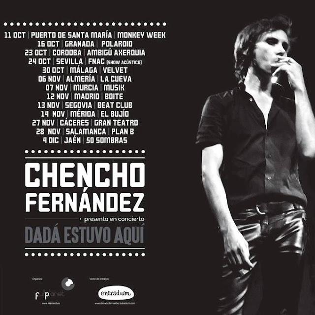 CHENCHO FERNANDEZ - Próximos conciertos 2015
