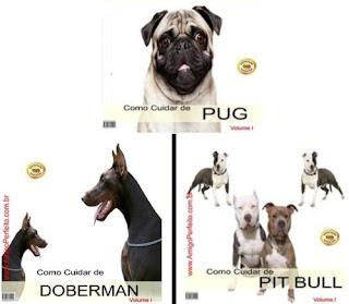 Curso como cuidar do seu cão ( Pit Bull, Pug, Dobermann, etc)