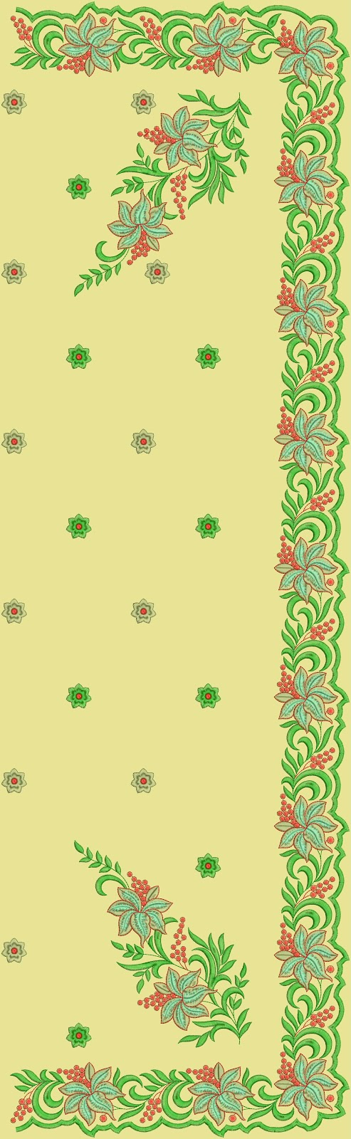 Embroidery butterfly design embroidery on saree makaroka designer sarees c pallu embroidery patterns embdesigntube bankloansurffo Images