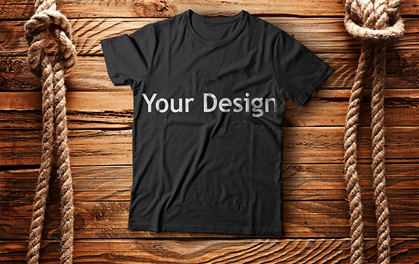 Download T-shirt Mockup PSD Terbaru Gratis - T-Shirt Mockup Design