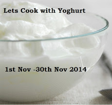 Lets cook with Yoghurt
