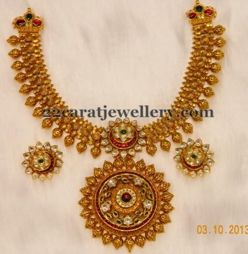 heavy kundan set by kothari jewelry jewellery designs