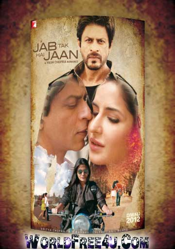 Poster Of Jab Tak Hai Jaan (2012) All Full Music Video Songs Free Download Watch Online At worldfree4u.com
