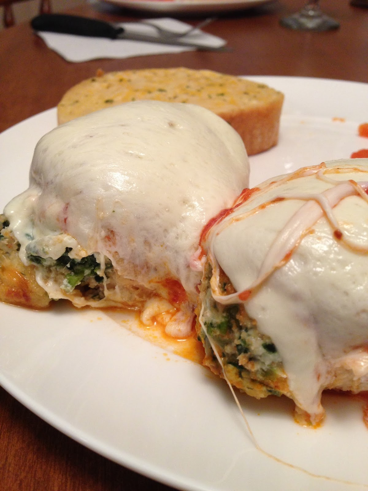 Tawny's Tid Bits: ~ Chicken Rollatini with Spinach alla ...