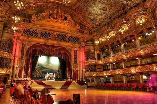 blackpool tower ballroom wallpapers - photo #13