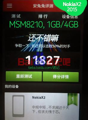 Nokia X2 AnTuTu