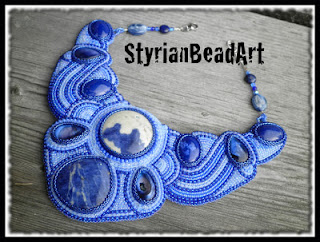bead embroidery beadwork necklaces pendants blogs